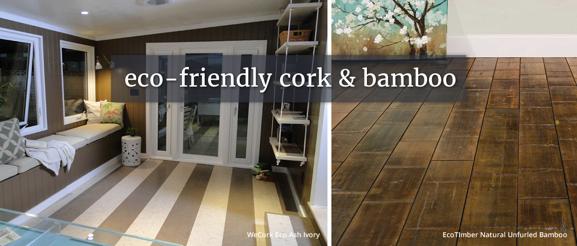 Cork And Bamboo Flooring