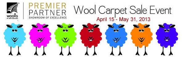 Wool Carpet Sale