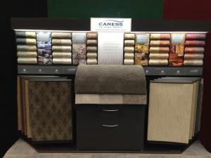 Caress carpet display