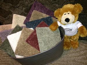 caress carpet bear