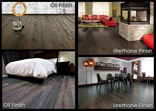oil versus urethane finished wood floors