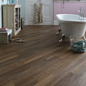 Kardean luxury vinyl tile flooring for bathroom