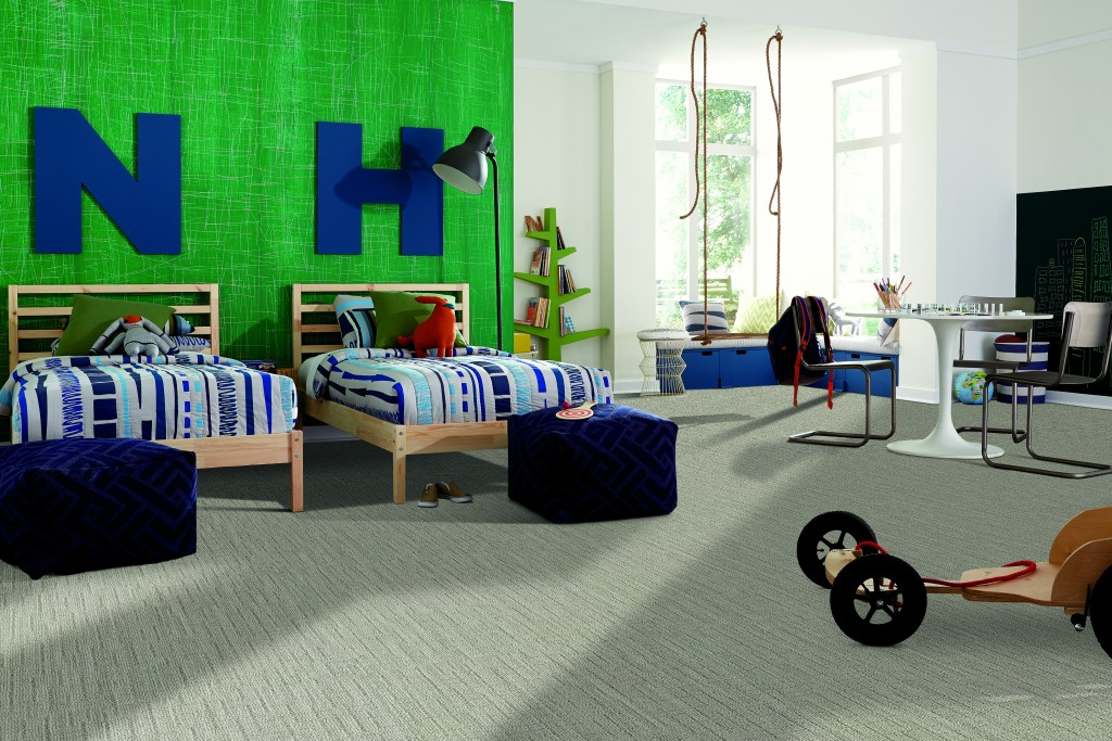 LifeGuard carpet is perfect for the kids' room. BarryCarpet.com